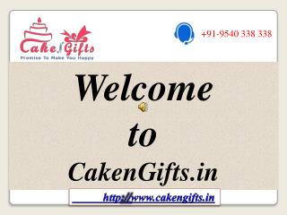 Cake Delivery in Delhi with Special Discounts via CakenGifts.in