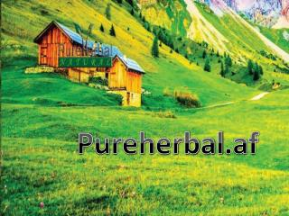 About Us Pure Herbal Afghanistan