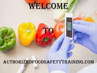 Food Protection Manager Certification