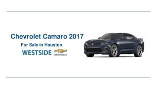 2017 Chevrolet Camaro for Sale in Houston