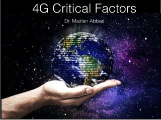 4G Critical Success Factors