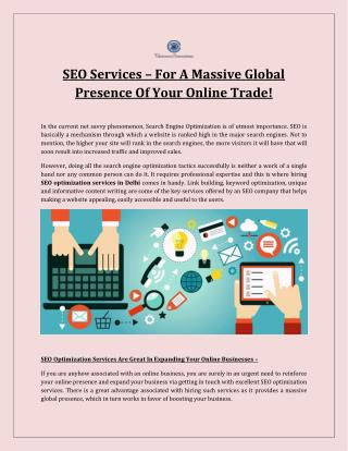 Best Seo Services in Delhi Ncr| Top Seo services in Delhi - SEO Services