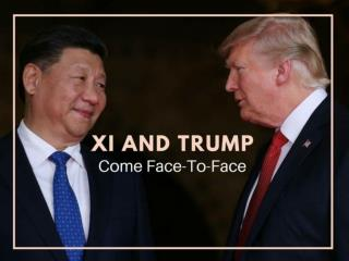 Xi and Trump come face-to-face