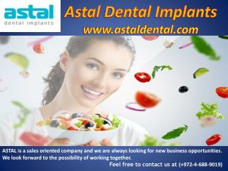 Best Dental implants Manufactures, Supplies- Dental implants Suppliers companies| Astal