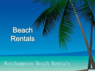 Oceanfront Beach House Rentals