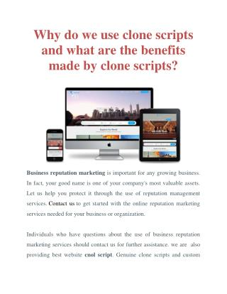 Best Website Clone Script