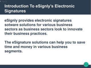 Application Of electronic Signature In Various Sectors