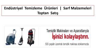 Endüstriyel Temizleme Ürünleri | Sarf Malzemeleri Toptan Satış