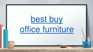 best buy office furniture
