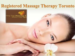Effective Registered Massage Therapy Toronto
