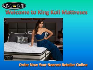 Buy Online King koil Mattresses in India