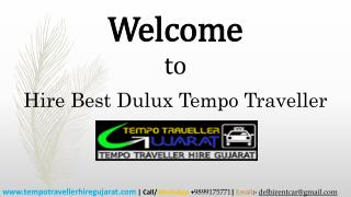 Hire Best Dulux Tempo Traveller