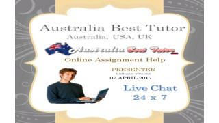 Assignment Help offer with Online discount Australia