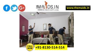 Home cleaning services and marble cleaning services by themaids.in