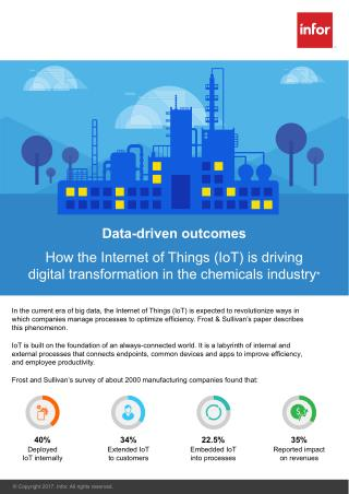 How IoT is driving Digital Transformation in the Chemicals Industry | Infor Chemicals