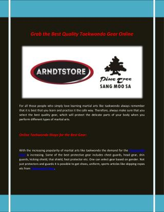 Arndt Martial Arts Shop | Supplies of Martial Arts Equipment