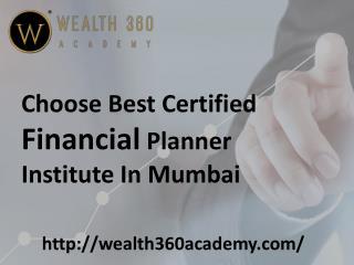Certified Financial Planner Certification in Mumbai
