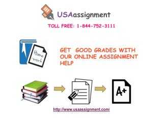 USA Assignments Help I Dial: 1-844-752-3111