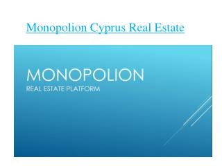 Real Estate Investing In Cyprus