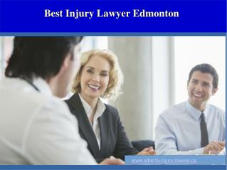 Best Injury Lawyer Edmonton