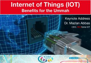 Internet of Things - Benefits for the Ummah