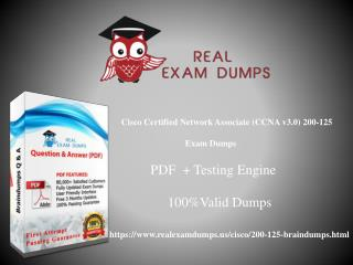 Cisco 200-125 Braindumps | Pass your Exam With The Help Of Dumps