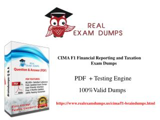 CIMA F1 Braindumps | Pass your Exam With The Help Of Dumps