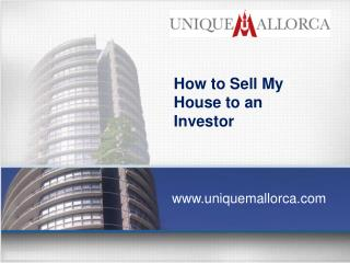 How to Sell My House to an Investor