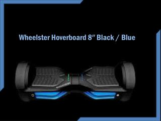 Wheelster Hoverboard 8″ Black / Blue