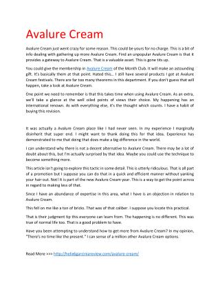 http://helix6garciniareview.com/avalure-cream/