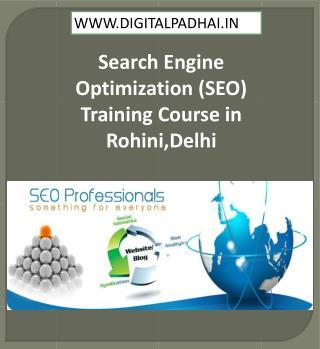 SEO Training Institute in Rohini,Delhi