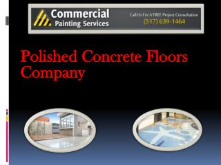 Polished Concrete Floors Company
