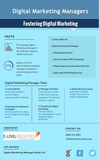 Facts About Digital Marketing Manager