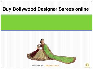 Buy Bollywood Designer Sarees online USA and CANADA