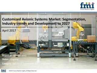 Customized Avionic Systems Market: Dynamics, Segments, Size and Demand, 2017 - 2027