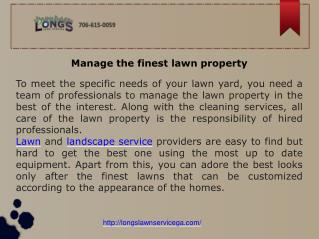 Lawn Care, Weed Control, Masonry, Property Management, Sod Installation,Residential Landscaping Columbus GA