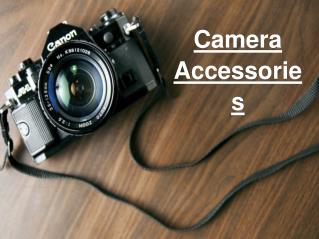 Buy Cameras & Accessories Online
