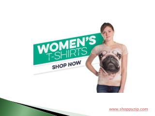 Trendy Women Tees at ShoppyZip