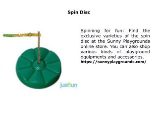 Spin Disc