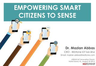 Empowering Smart Citizens to Sense