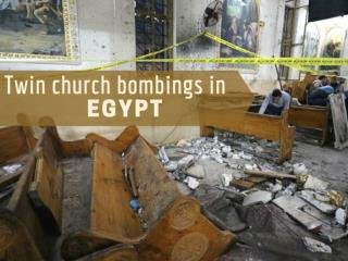Twin church bombings in Egypt