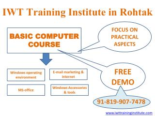Basic Computer Course In Rohtak | Basic Computer Training Institute | Digital Marketing Training Institute
