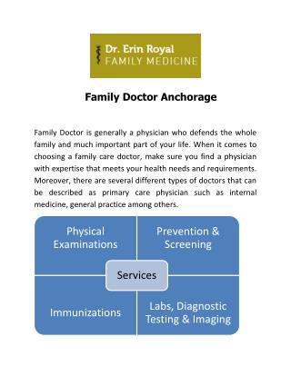 Family Doctor Anchorage