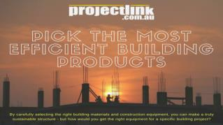 How to Pick the Right Equipment for any Construction Project