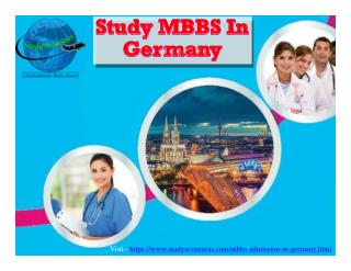 MBBS in Germany |  MBBS Admission in Germany