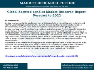 Global Scented candles Market Research Report- Forecast to 2022