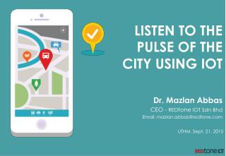 Listen to the Pulse of the City