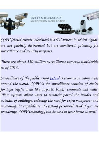CCTV Camera Online Store