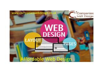 Cheap Website design | Web Designers London - Web Design Company London