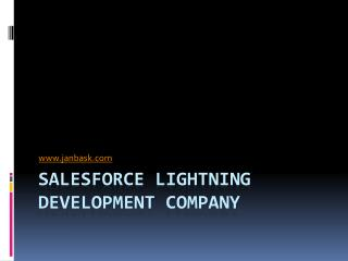 Salesforce Lightning Development Company